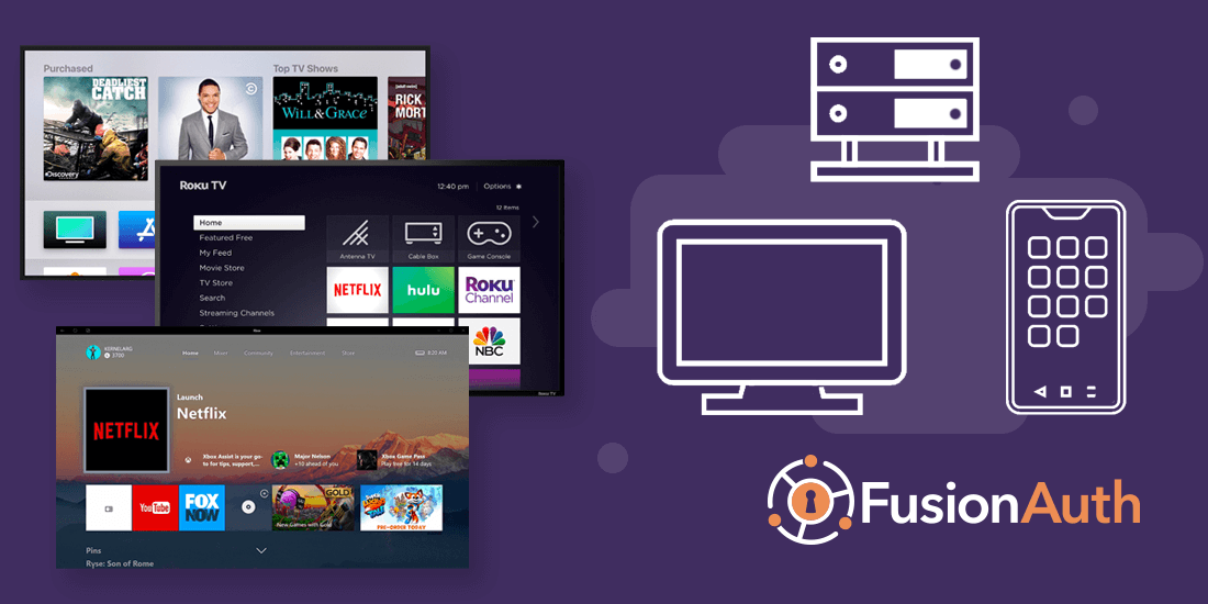 How to implement OAuth Device Authorization for set-top devices like Roku, AppleTV, and XBox and more.
