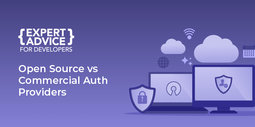A look at the pros and cons of open-source and commercial authentication providers.
