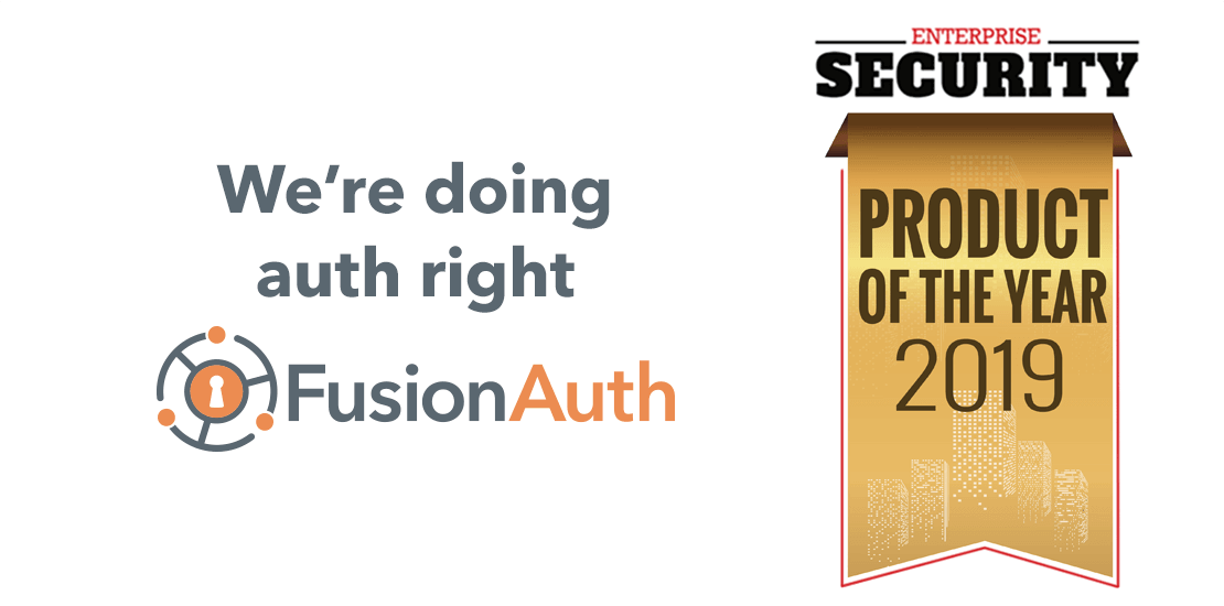 FusionAuth Snags Identity and Access Management Product of the Year
