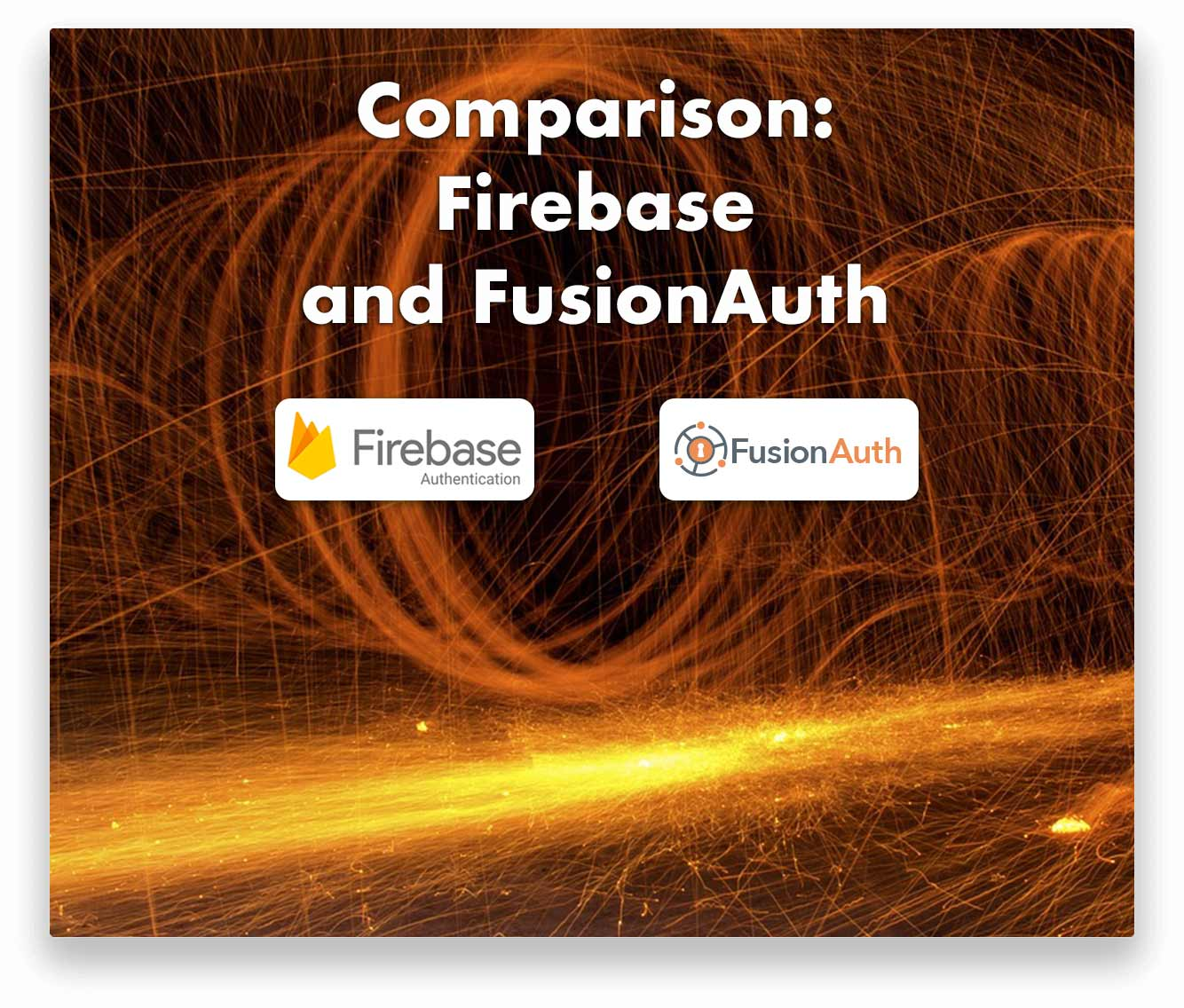 Compare FusionAuth and Firebase for your identity and access management solution.