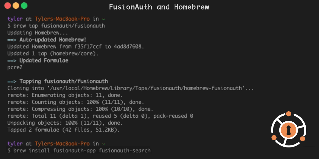 Building the FusionAuth Homebrew Formula