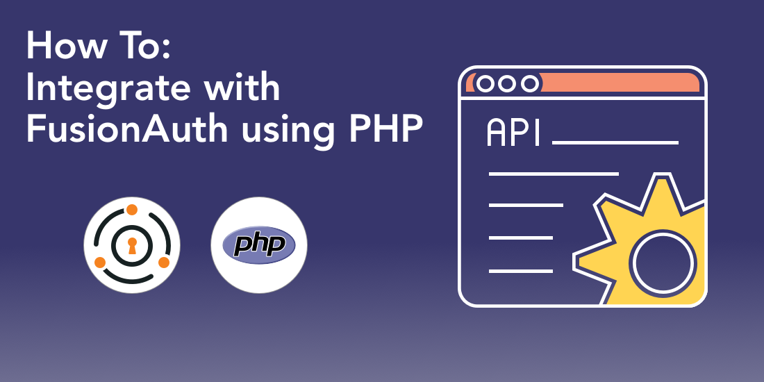A quick overview of integrating with FusionAuth using PHP. This post covers creating and registering a user, changing their password, generating a login report and then deleting the user.