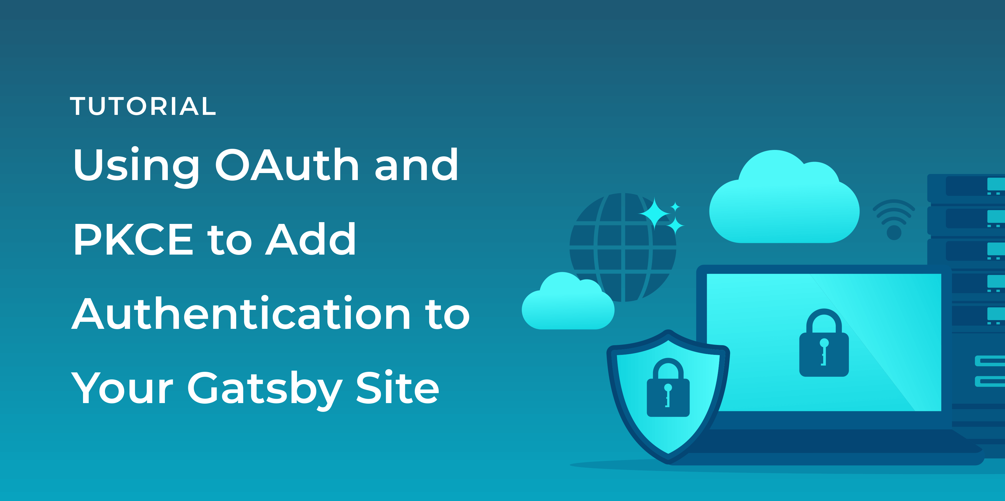 If you want to add authentication to your Gatsby site, FusionAuth combined with the OAuth Authorization Code grant and the PKCE extension, is an excellent solution.