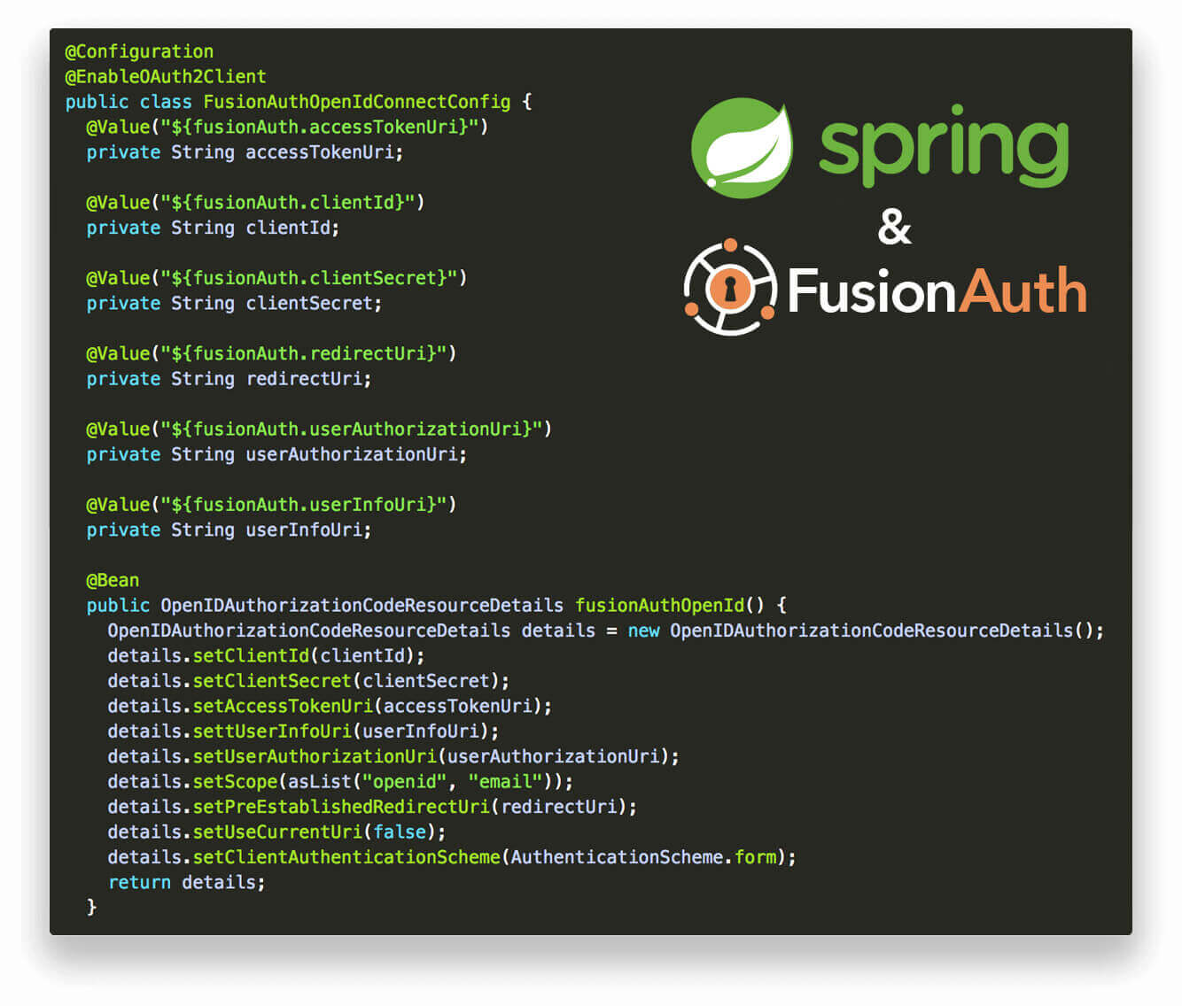 Easy Integration of Spring and FusionAuth - FusionAuth