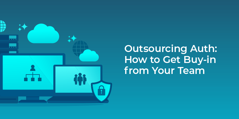 Who are the players you'll need to work with to make an outsourced auth implementation successful?
