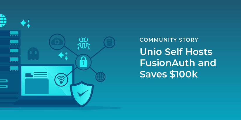 Unio self hosts FusionAuth and saves $100k